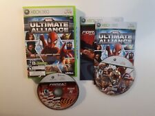 MARVEL ULTIMATE ALLIANCE FORZA 2 Xbox 360 Complete CIB - FAST FREE SHIPPING