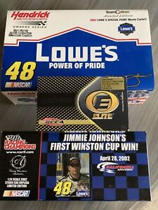 Lot of 3 2002 Jimmie Johnson Rookie car. All 3 are new in box. Diecast.