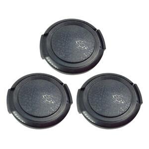 37mm Plastic   Front Lens Cap Cover Universal for DV Camcorder Black