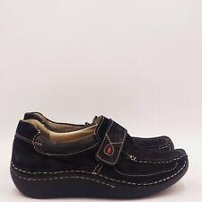 Wolky Slip on Clog Size 9 Medium Black B321