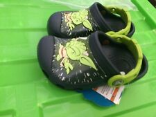 2e0eb1547cc32 Crocs Crocband Star Wars Yoda Boys Blue(Navy) Clogs Uk Size Child C4
