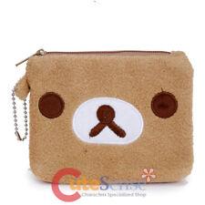 San X Rilakkuma Coin Bag Mini Purse Pouch Bag Plush Face