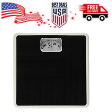 Mechanical Rotating Dial Scale (Black) High Quality Steel Construction Durable