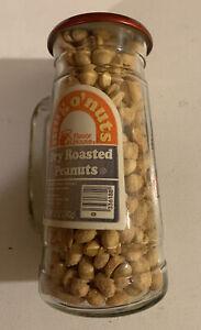 Vintage Glass Mug O' Nuts Peanuts Baltimore Orioles Baseball Peanut NOS Full