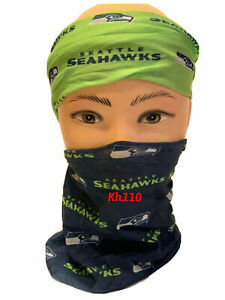 NFL Seattle Seahawks Face Mask Bandana Balaclava Head wear Neck Scarf
