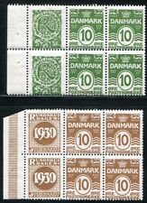 Danimarca 1927 r27+120 ** Post freschi etc stampe insieme (d4931