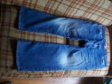 Levis Mens Size 42x32 (Actual 38x30) 517 Boot Cut Jeans 66/34 Cotton/Poly