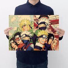 Anime Naruto Prints Art Home Wall Decoration Retro Kraft Paper Poster Lizzj Top