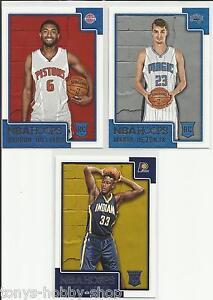 2015-16 Panini NBA Hoops 3 Card Rookie Lot - Hilliard, Hezonja & Turner RC
