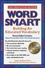 Word Smart: Building An Educated Vocabulary (Princeton Review) by Adam Robinson,