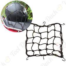"SILVERLINE 30cm/12"" ELASTICATED CARGO MESH Motorbike Bike Car Luggage Hooked Net"