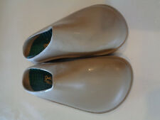 Daniel Green Tan Rubber Slip On Outdoor Waterproof Shoe Hardly worn 9M
