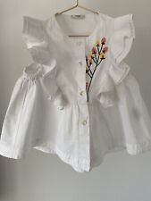 Stunning Fendi Blouse Top For Girls Size 3 Years