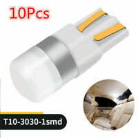 10Pcs For Car Canbus T10 LED Bulb W5W 3030 SMD White Light Interior Reading Lamp