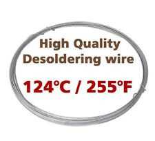 Low Melting Point 124°C/255°F Soldering Wire 1mm 1m/3.3ft Without Flux by Chemet