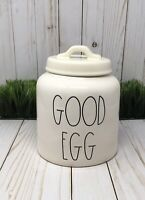 NEW Rae Dunn GOOD EGG Easter Spring Canister Chubby LL Farmhouse 2019