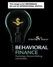 Behavioral Finance: Psychology, Decision-Making, and Markets(Int' Ed Paperback)
