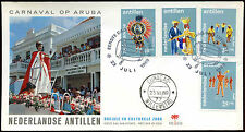 Netherlands Antilles 1969 Antilles Festival FDC First Day Cover #C26613
