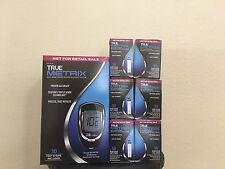 TRUE Metrix Glucose Test Strips ( 6 X 50 CT) + FREE Meter,Lancets,Lancing Device