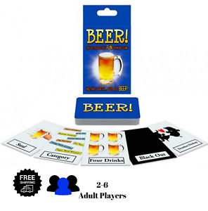 🍺BEER! The Outrageously FUN Drinking Game Group Games