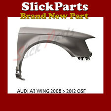 AUDI A3 WING PRIMED 2008 2009 2010 2011 2012 *NEW*  DRIVERS SIDE OSF