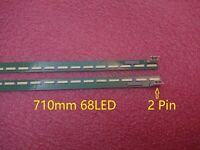 2pcs 68LED 710mm LED strip for LG 65UH6030 6922L-0143A 6916L2305A 6916L2306A