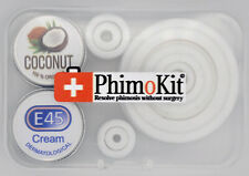 Phimosis Curing Foreskin Penis Full Kit Includes 23 Stretch Rings Expander Cream