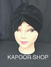 VELVET TURBAN STYLE,Head Wrap,,Hat,Bandana,Scarf,Hair LOSS,Vintage