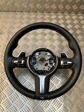 BMW 3er f30 m3 m4 x5 x6 volant Chauffage Cuir Original Boutons balancent lr7