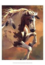 Wild Heart by Carolyne Hawley Fine Horse Art Print Poster Home Decor 766113