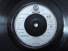 """Kraftwerk Autobahn 1F//1 2F//2 UK 7"""" Vertigo 6147 012 1974 EX+"""