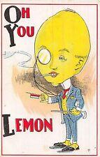 POSTCARD  COMIC   Oh  you  Lemon