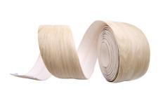 Oak Skirting Board - Flexible PVC - Self Adhesive Tape 5 meters Light Washed Oak
