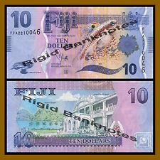 Fiji 10 Dollars, 2013 P-116 Unc