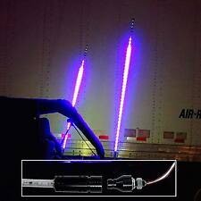"60"" 5ft RGB Color Dancing Chasing LED Light Whip Remote Quick Release Offroad 1x"