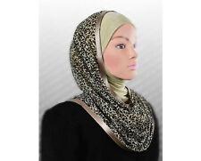 Hooded scarf Instant Hijab slip on Kuwaiti WRAP INSTANT shawl Muslim Headcover