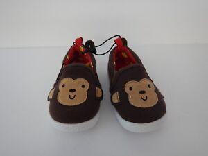 New Boys Girls Kids Toddler Baby Monkey Shoes Size 4 5 6