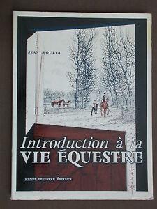 Equitation Cheval Vie équestre - Roulin Archambault Dressage cavalier 1960