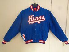 New listing 1980's NBA Sacramento Kings Satin Starter Jacket Authentics Mens Small