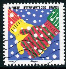 TIMBRE FRANCE  AUTOADHESIF OBLITERE N° 1192 / BONNE ANNEE / FETE DE FIN D'ANNEE