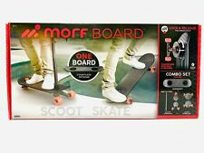 Morfboard Skate & Scoot Combo, 2-in-1 Kick Scooter for Kids.