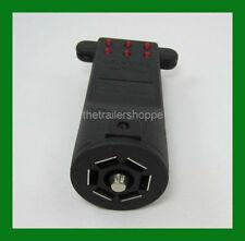Tekonsha Emulator Trailer Socket Circuit Light Plug Tester 7 Flat Pin RV