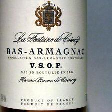 1 BT Bas Armagnac 1985 LA FONTAINE DE COINCY 0,35  lt. AST.