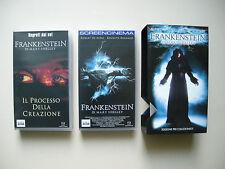 FRANKENSTEIN di Mary Shelley - Cofanetto 2 VHS edizione limitata e numerata