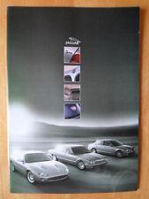 JAGUAR DAIMLER RANGE 2000 40p prestige brochure - XK8 XKR XJ8 Super V8 Sovereign