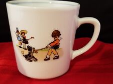 "PIER 1 IMPORTS CHILD'S MUG CUP 3 1/8"" H MADE IN GERMANY HANDCRAFTED"