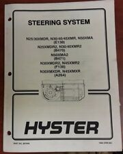 Hyster Steering System 897848 1600 SRM 605