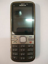 Original Nokia C5-00 5MP Unlocked  Camera Hebrew Keyboard Warranty Mobile Phone