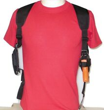 Shoulder Holster for Ruger LC9 & LC9s Compact 9mm Pistols with Double Mag Pouch