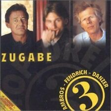 Rainhard Fendrich Top 3: Zugabe (compilation, 1998, & Danzer/Ambros) [CD]